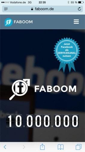 1000000 Faboom Kommentare