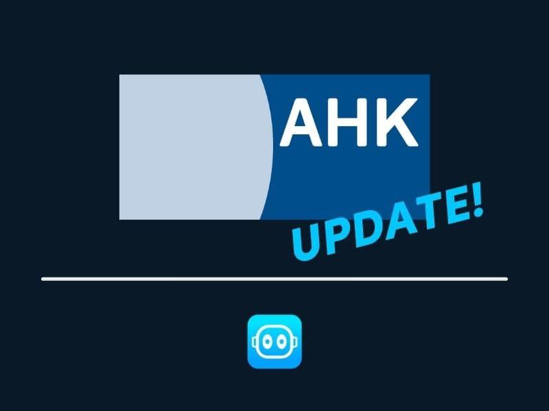 AHK Update